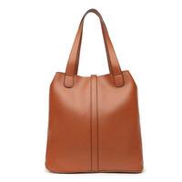 New fashion women handbag vintage bucket shoulder bags 4 colors bolsas hot trendy PU leather female bag brand desigual big tote