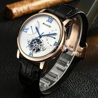 Genuine brand 6-pin multi-function mechanical watch hollow strap automatic mechanical watches men watches men watch waterproof