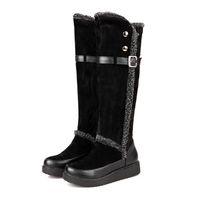 2014 Explosion Models Snow boots / Autumn and winter Warm Women's long boots / Rivet Korean Fashion winter boots /shoes J64