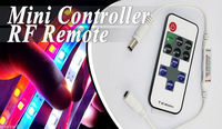 1 PC 11Key Mini RF Wireless Remote Controller Dimmer DC12V 6A 72W for Warm White Cool Natural SMD 3528 5050 5630 Led strip light