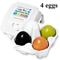 Hot Holika Egg Soaps Special 1 Set 4 type (50g x 4 pcs)/box For Moisturizing Face and Blackhead Remover