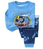 Pajama Set Thomas Train Clothing Sets Long Sleeve Clothing Nightie Pyjamas Sleeping Wear 2Y - 7Y