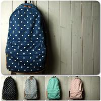 New 2014 Women High quality Printing Backpack lady School bag travel bag Free shiping