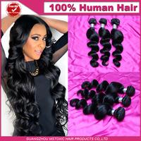 Peruvian loose wave hair weave bundles 3pcs lot unprocessed virgin peruvian hair remy 100% human virgin peruvian
