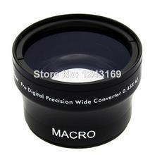 0.45x 40.5mm Wide Angle Lens with Macro for Nikon 1 J1 V1 V2 camera DSLR LF279