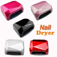 CCFL LED UV Lamp 36W Light Best Curing Nail Dryer Nail Art Lamp Care Machine for UV Gel Nail Polish EU Plug Free Shipping