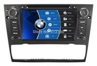 Car DVD for BMW E90 E91 E92 E93 GPS Bluetooth TV IPOD Radio RDS USB/SD CAN BUS Steering wheel control Free gps map+Free Shipping