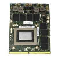 High Quality Video Card  For Dell M17x  N v i d i a Geforce GTX 580M N12E-GTX2-A1 2G DDR5 CLEAN PULL Video Card