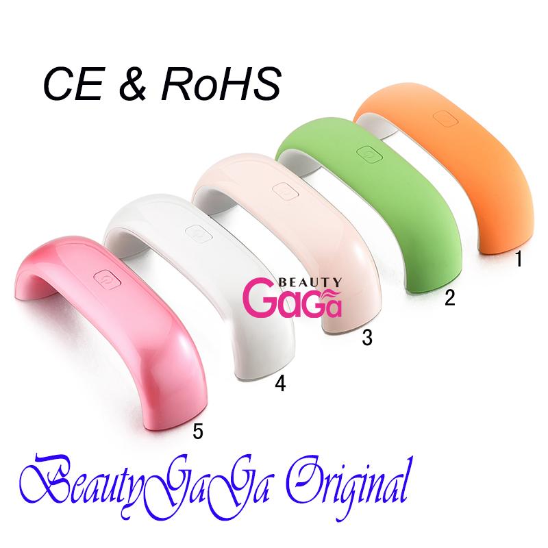 BeautyGaGa-Supply-US-Plug-110V-EU-220V-Green-Pink-UV-Gel-Nail-Dryer ...
