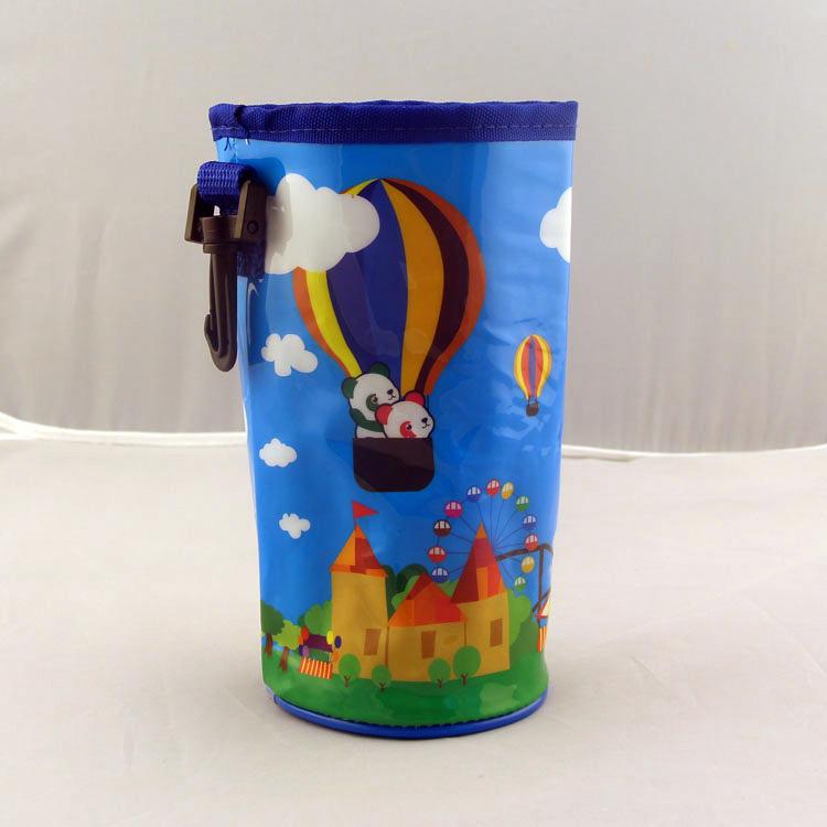 Fantasia portátil isolado garrafa de água Bolsa caping fresco Cordão Drink Bolsas Suporte Portátil envio Thermos Proteção gratuito(China (Mainland))