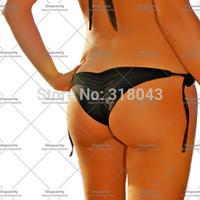 new 2014 Sexy Women shorts swimsuit Brazilian String Tie Side Scrunch Ruched Butt Bikini Swimwear Bottom biquini bikini swimming