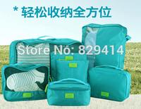 High-end 7pcs/lot set Travel Accessories Men and Women Good Partner Travel Storage Bags (seven different sizes Bags)