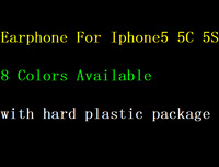 10pcs Mic earphone headphone with remote volume control For iphone 5 5s 4g 4s for ipad mini