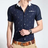 2014 new arrival fashion men's t shirt Korean slim style summer short sleeve male high quality  T-shirts for men