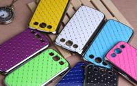 10PCS Plating Crystal Rhinestone Bling Star Diamond Hard Case Cover for Samsung Galaxy S3 SIII i9300