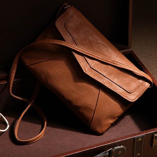womens leather envelope shoulder bags ladies small vintage summer handbags