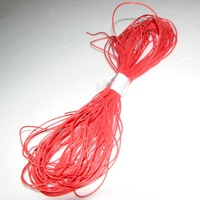 28AWG Red Color Soft Silicone Wire 20m/LOT bending and cold freeze-resistant with EU ROHS and REACH Directive standards