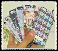 Brand Gold Logo Designer Bird Dog Swan Animal Ted Bakers Rose Flower Hard Back Cover For Iphone 5 5S Case