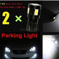 2pcs Upgrade High Power Auto Car Styling Led Light Source 168 194 2825 T10 W5W LED Car Parking Led Lights Bulbs Xenon White
