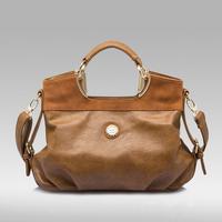 2014 Fashion Desigual POLO Brand Women Handbag Leather Shoulder Bags Women Messenger Bag Items Tote Bolsas Bule Brown