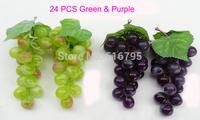 High simulation raisin grapes vine  pipeline  decoration home decoration  artificial fruit  plants