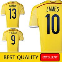 Лучшие тайские playver verion 2015 Месси neymar jr Иньеста Хави, я дома camisas Суарес Ракитич от зеленый 14 15 Футбол трикотажные изделия наборы