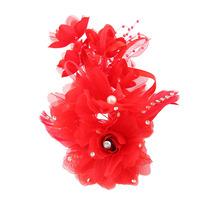 2014 Frozen Headband Wedding Diamond Juan Yarn Flowers Side Clip Hair Ornaments Handmade Beaded Headdress Tiaras Floral Fashion
