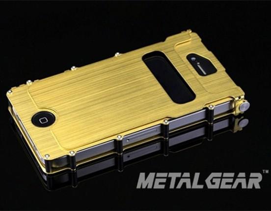 Enfriar Iron Man Metal de aluminio vertical del tirón del caso de la cubierta para el Iphone 4 4S de Metal de acero inoxidable cubierta del teléfono + alta calidad(China (Mainland))