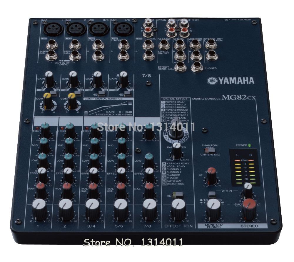 Harga Audio Mixer Audio Mixer Yamaha Mg82cx