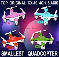 Hot Sale CX-10 ! The World Smallest Drone Remote Control RC Mini Quadcopter Quad copter Helicopter Ar.drone Quadrocopter Drone