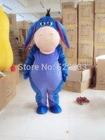 New Adult suit size Eeyore Donkey mascot costume