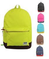 New 2014 Trendy Brand design Simple Women Men Backpack School bag Leisure Travel bag Free shipping