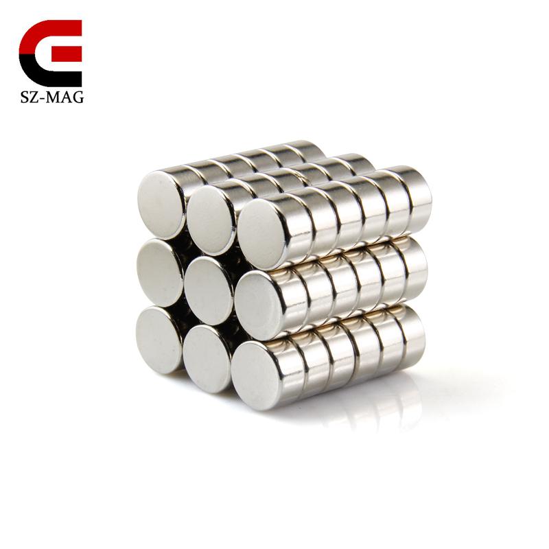 20pcs rare earth strong round Neodymium Magnet N50 10x5mm wholesale free shipping(China (Mainland))