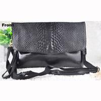 2015 new crocodile women handbag shoulder cross body bag envelope evening bag women clutch bag messenger bag,ANS-SL-689