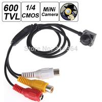 """1280 x 960 Mini 600TVL 700TVL 1 / 4"""" HD CMOS Sensor 5 Mega Pixel Smallest Cone Pinhole Video Camera Hidden CCTV Camera"""
