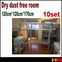 10set  wholesale Dry dust free room anti static room full set for cleaning room anti-static wall  refurbishment dust-free plant
