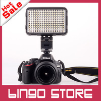 Brand New Shoot XT-160 LED Video camera studio Light Lamp white bulbs + for Sony Hot Shoe Bracket DSLR Camera DV Camcorder