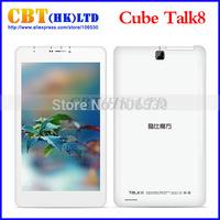 """Original Cube Talk 8 U27GT Android 4.4 3G Tablet PC Quad Core MTK8382 1.3Ghz 8"""" IPS 1280*800 1GB RAM 8GB ROM GPS Bluetooth"""