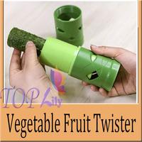 New Easy To Use Garnish Veggie Fruit&Vegetable Cutter Spiral Slicer Grater Kitchen Utensil Tools Helper Eco-Friendly Processing