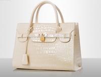 2015 luxury brand new women lady tote handbag designer lock fashion shoulder bag Women's Handbag PU Leather women's Bags beige