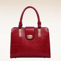 New 2015 Women PU Leather Handbag Vintage Shoulder Bags Fashion Design Women Tote Trendy High Quality Bag Bolsas