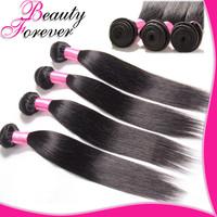 4Pcs/Lot 6A Brazilian Straight Hair Natural Color Hair Unprocessed Brazilian Virgin Hair Straight Weave Mix Length BFST048