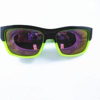 Hot Sell New 2014  Wayfarer Outdoor Cycling Windproof UV400 Sport OverSized  Sunglasses Green