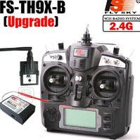 FLYSKY FS-TH9X-B 2.4G 9CH Radio Model RC Transmitter Receiver for Heli Airplane