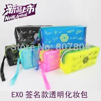 2014 sale pen case school for children 12pcs/lot mixed exo/bigbang/sj/cnblue/infinte/snsd new style pencil bags