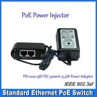 10/100Mbps IEEE802.3af 802. PoE Power  Injector 48V out 10/100 AF   DS-3000-AF