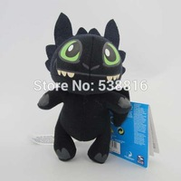 Free Shipping 1 pc How to Train Your Dragon Toothless Night Fury Plush Doll Soft Stuffed Toy 17CM Christmas Gifts Dropshipping