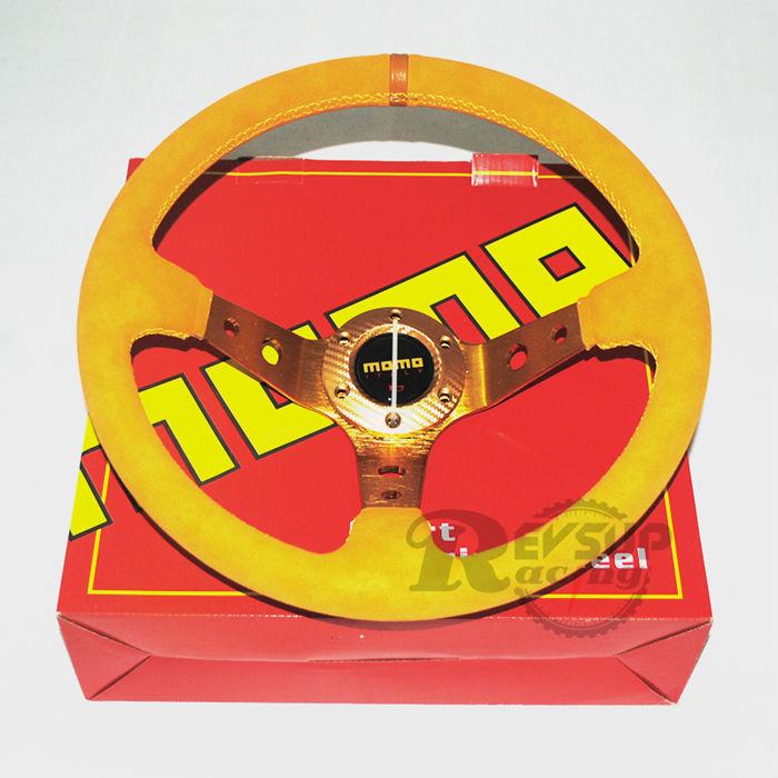 Momo Red Suede Steering Wheel Momo Steering Wheel(china