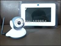 7 Inch Big Screen Wireless Baby Monitor 2way Talk Camera