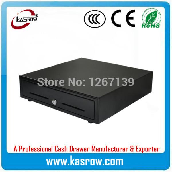 KR-350 3 Position Key Lock POS Cash Drawer for Standard Espon Printer RJ11/ RJ12(China (Mainland))